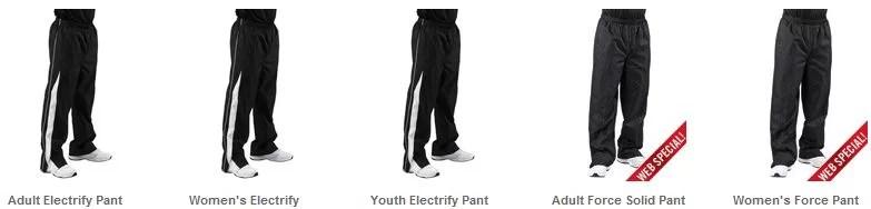 Warm up pants softball