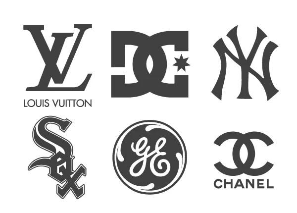 Famous Monogram Logos