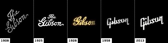 Gibson_evolucion