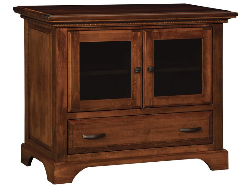 escalade two door one drawer plasma stand