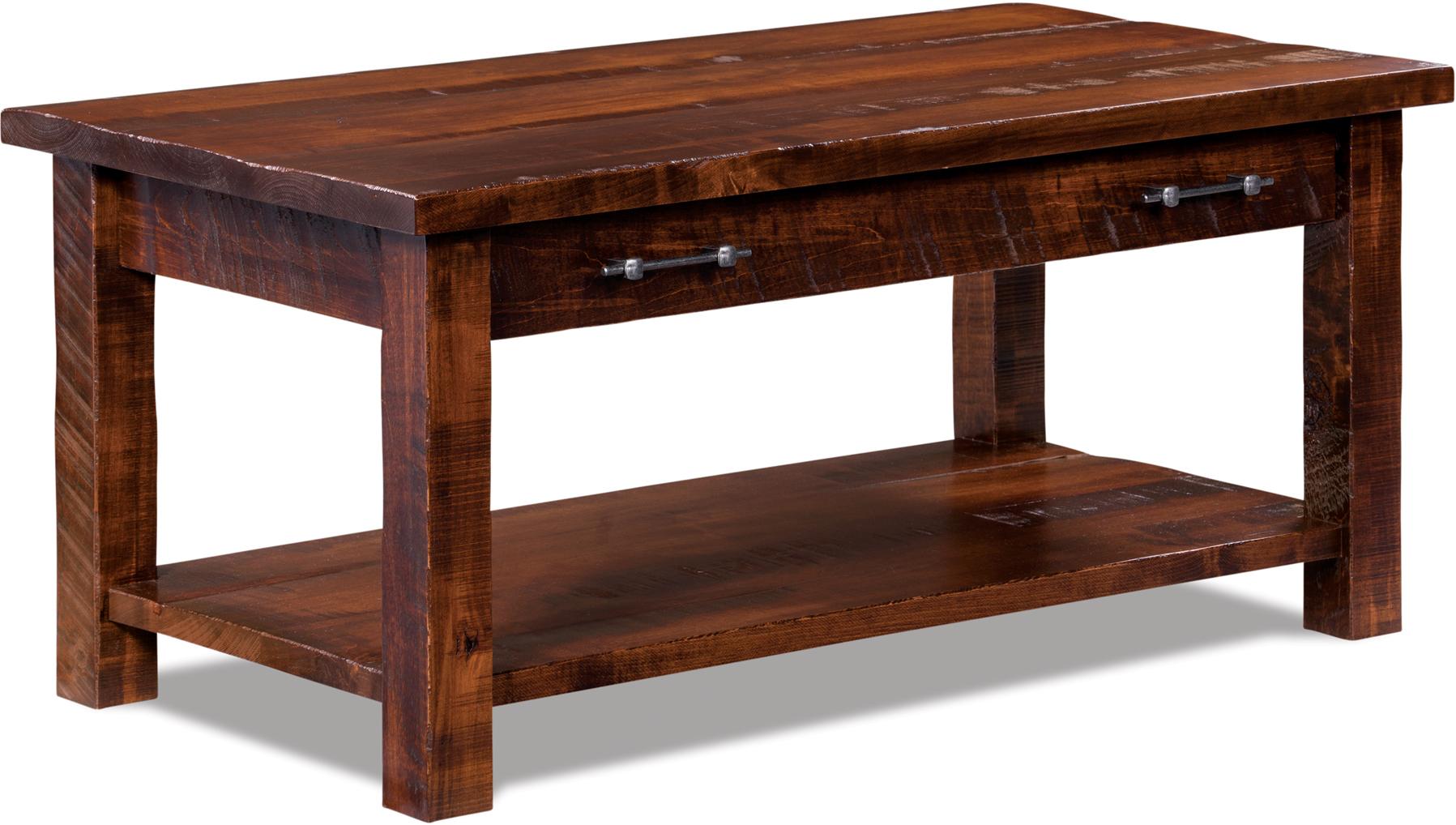 amish houston coffee table
