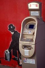 Blow up ATM, by laverrue