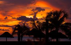 My Sunset over Cozumel