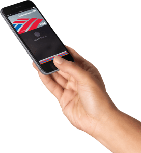 Apple Pay via Touch ID