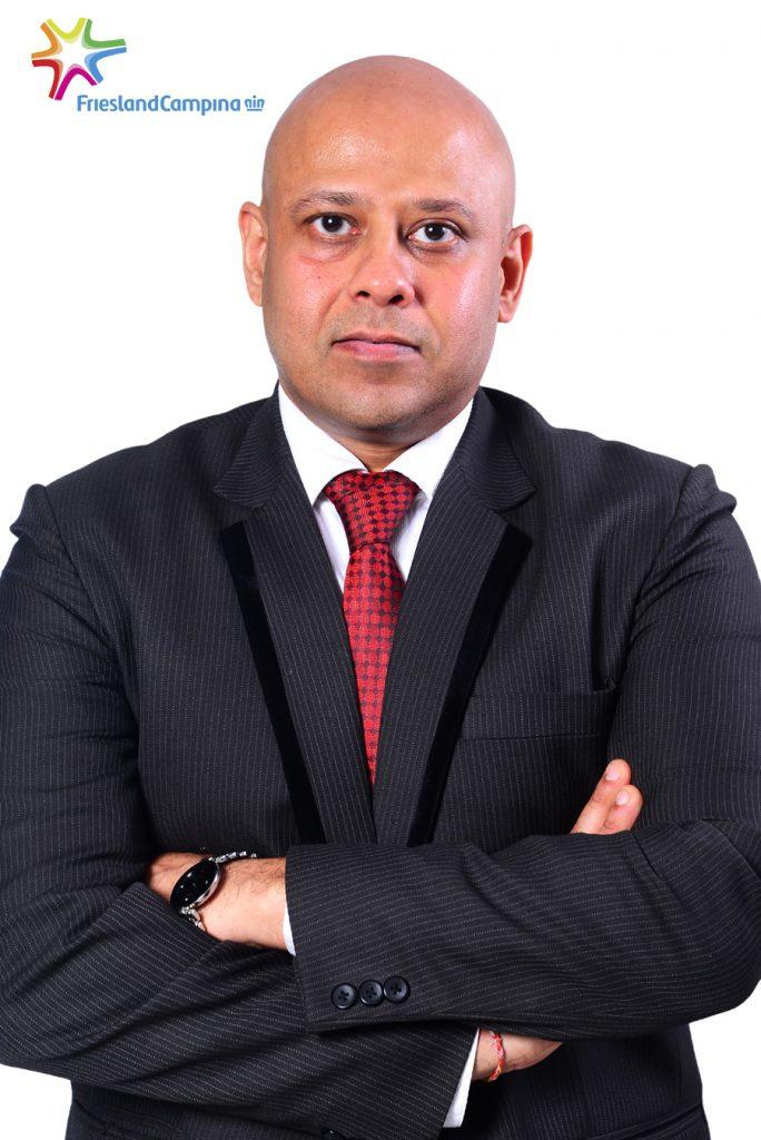 Tarang Gupta, Marketing Director, Friesland Campina WAMCO,