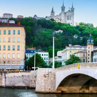 Burgundy Provence Lyon France Saone River