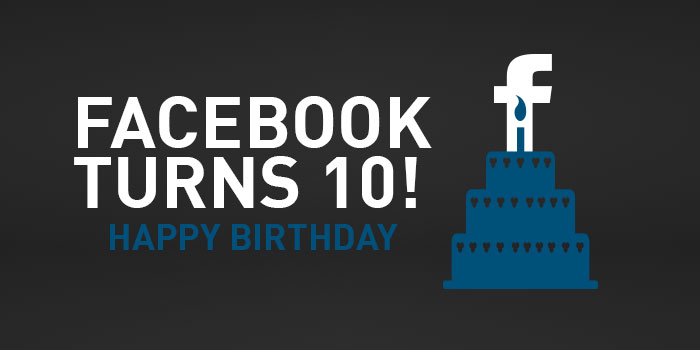 Happy Birthday Facebook
