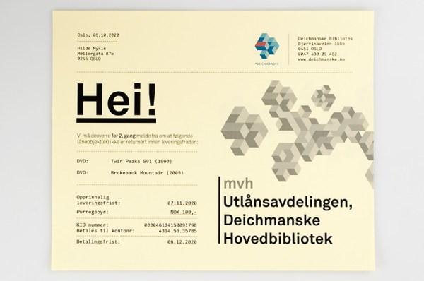 Deichmanske Library Identity 11