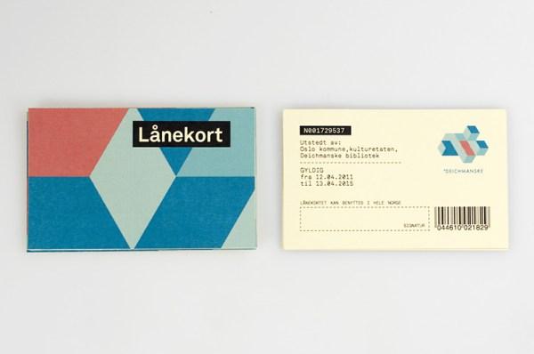 Deichmanske Library Identity 14