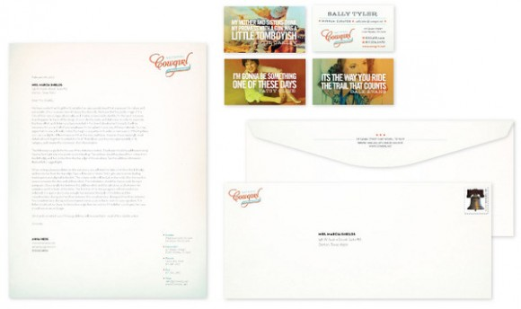 National Cowgirl Hall of Fame brand Identity 03