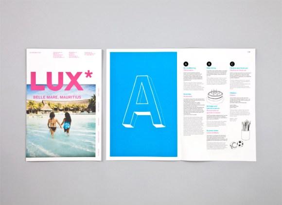 Lux Identity collateral design 14