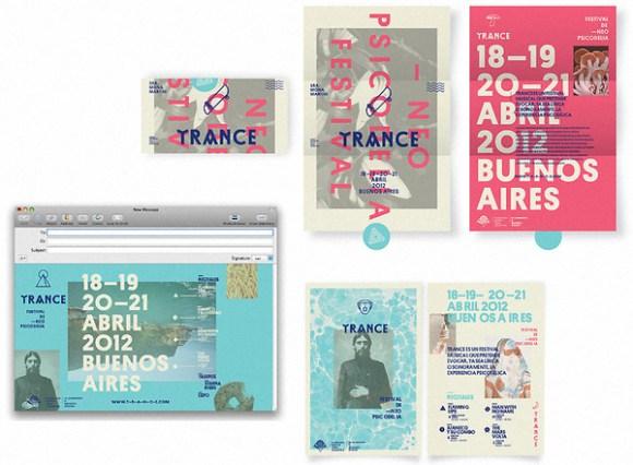 TRANCE – Neo Psychedelic Festvial design 09