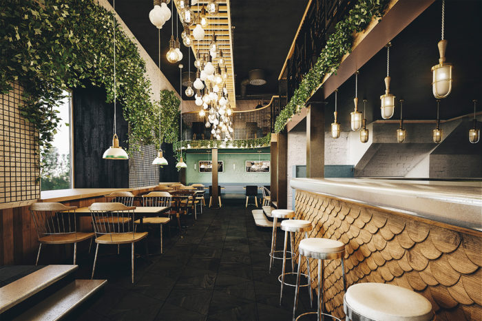 9 Simple Cozy Beautiful Restaurant Interiors Branding Identity