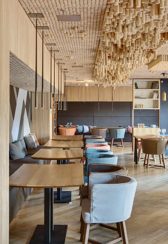 9 simple cozy beautiful restaurant interiors branding for Restaurant design innenarchitektur