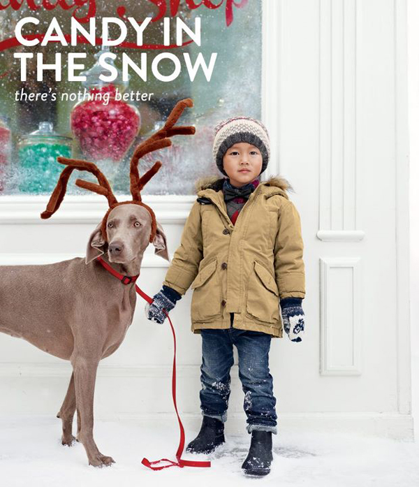GapKids I Want Candy Campaign Showcases Holiday