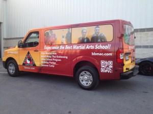 Fleet wraps vehicle Wrapping with branding
