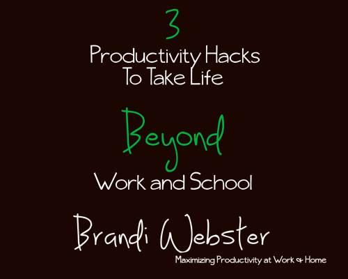 3 Productivity Hacks Resource