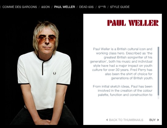 Paul Weller Wearing Fred Perry