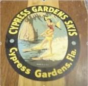 Cypress Gardens Ski Board Logo