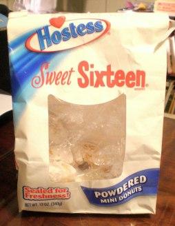 Hostess Sweet Sixteen, the former Merita Sweet Sixteen