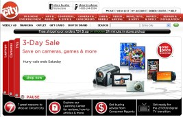 Circuit City Web shot