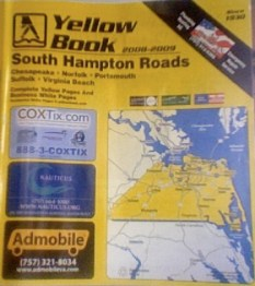 yellow pages cover Hampton Roads