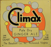 Climax Ginger Ale