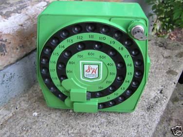 S&H Green Stamp Machine