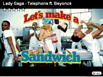 Gaga Goes for Wonder Bread, Miracle Whip