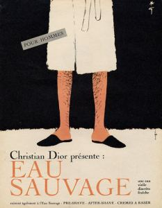 Vintage ad for Christian Dior's Eau Sauvage