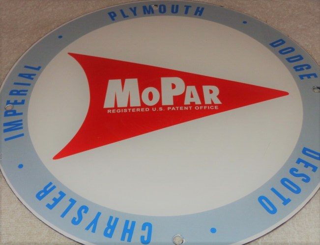 Mopar Sign