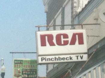 RCA pinchbeck TV Warsaw VA