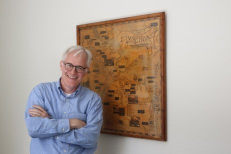 Woodcut Map Garland Pollard