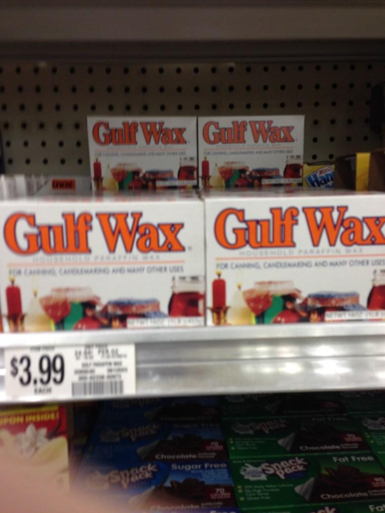 Current Gulf Wax Design