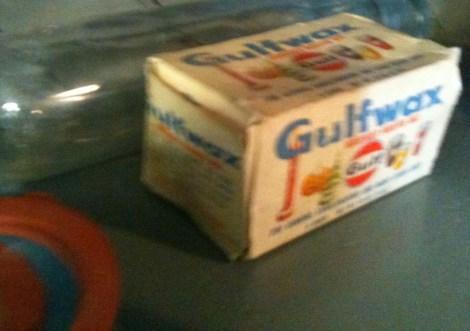 Old style Gulfwax