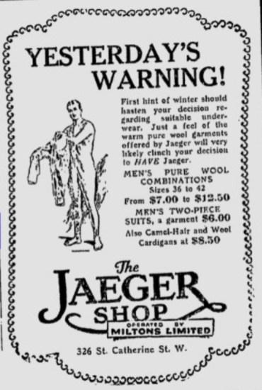 Jaeger Canada Ad