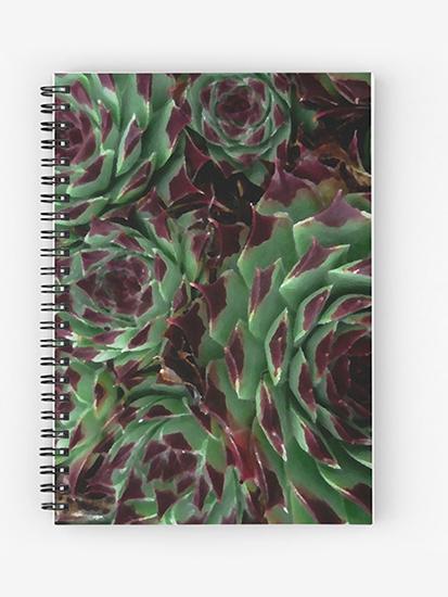 brandner-graphics-flora-&-fauna-sempervivum-notebook-redbubble-2