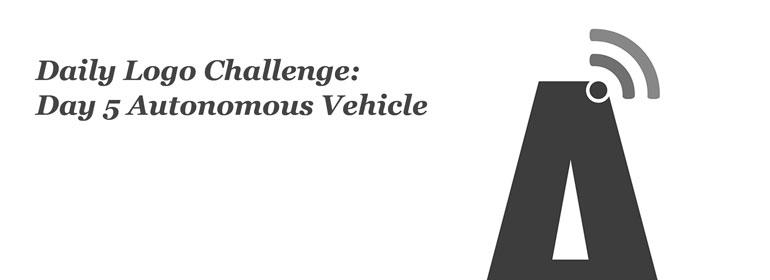 Daily Logo Challenge: Day 5 Autonomous Vehicle