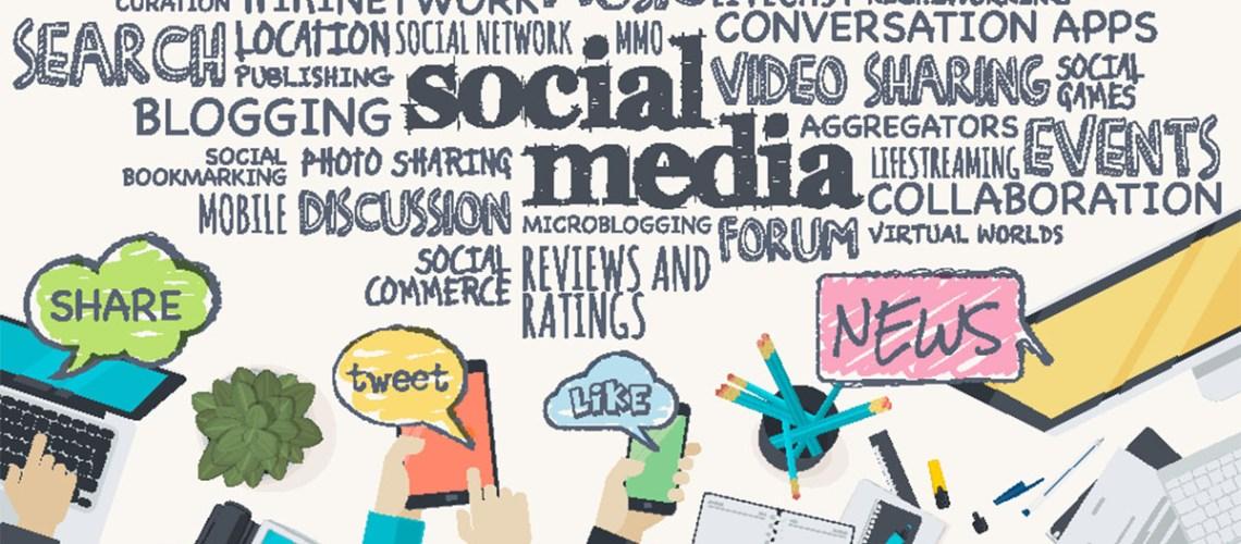 social platform header