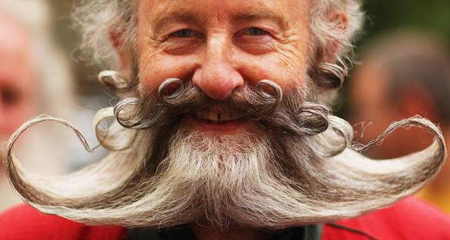 big mustache