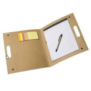 Eco Friendly - Conference folder with notepad