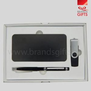 Gift Set Includes Power Bank, USB Flash Drive and Pen. Promotional Gift Items, Giveaway Gifts , Corporate Gifts Sharjah, Dubai, Abu Dhabi, UAE Supplier, www.brandsgifts.ae