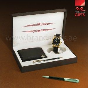 High quality Corporate Custom Gifts luxury Promotional Gifts With Gift Items and Custom PU Leather Box. www.brandsgifts.ae