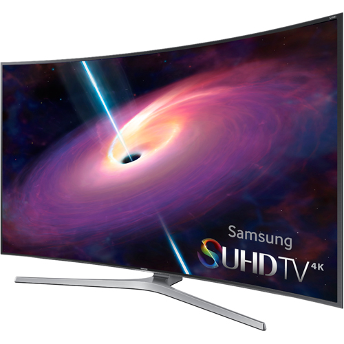 Samsung UN78JS9100 78 Class Smart JS9100 Series Curved LED 4K Ultra HDTV With Wi Fi