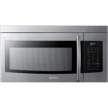 1 6 cuft 1000 watt over the range microwave in stainless steel
