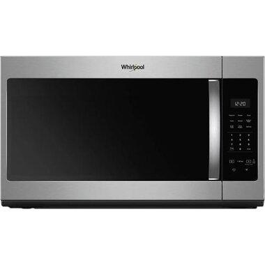 1 7 cuft 1000 watt over the range microwave in stainless steel
