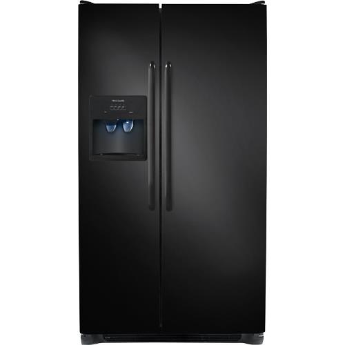 Frigidaire 255 CuFt Black 2 Door Side By Side