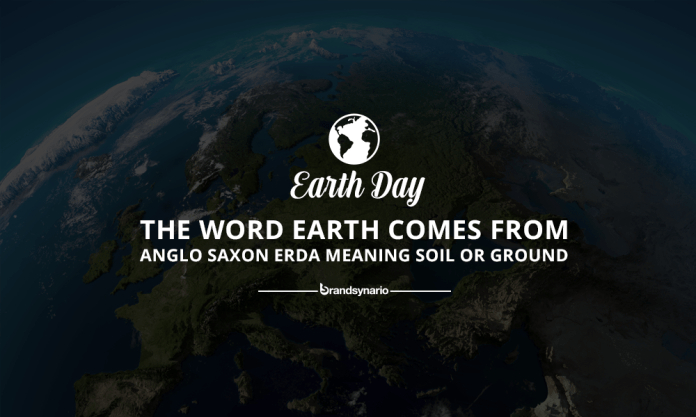 Image result for the name earth comes from anglo saxons