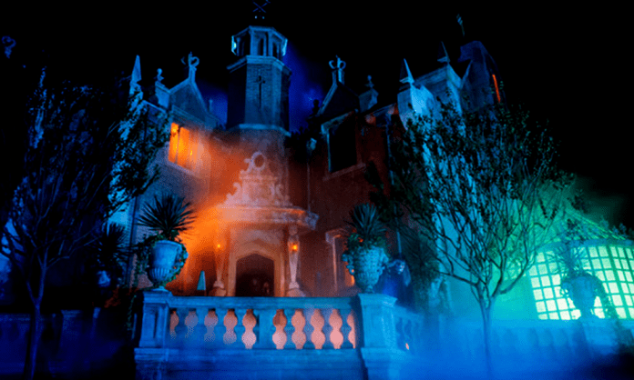 Haunted Mansion one of the most popular rides