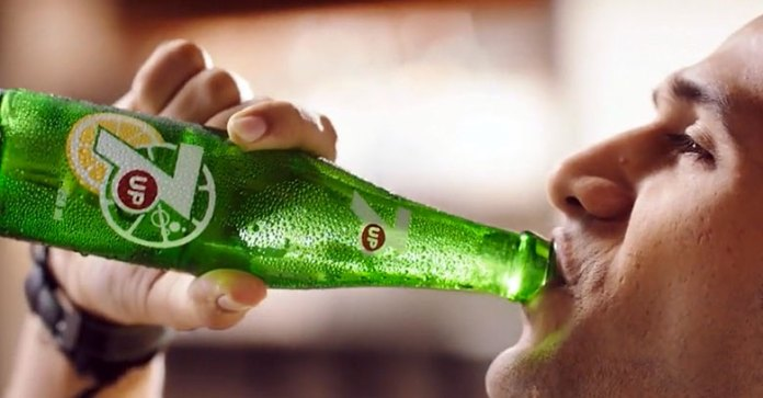 Its Love for Food with 7up